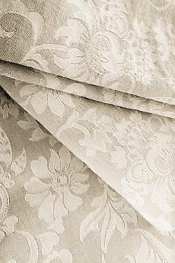 Jacquard King Duvet Three Euro shams Linen Cotton Portugal