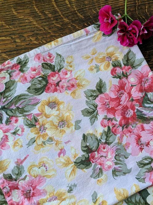 April Cornell Napkins~ Set of 2~ Green Floral