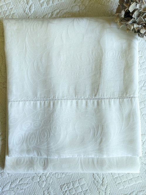 Linea Casa by Sferra White King Pillowcase Italy
