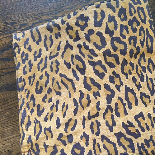 Ralph Lauren Aragon Medieval Leopard Curtain Panel