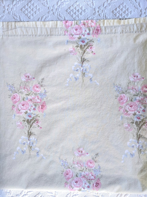 Simply Shabby Chic Blush Beauty Shower Curtain Panel Green Pink