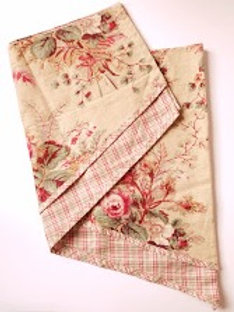 Waverly Valance~Floral and Plaid