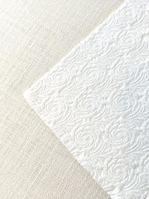 Belle Epoque Matelasse Std. Sham Cream~Portugal~Cotton