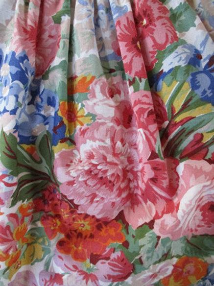 "Ralph Lauren South Hampton Beach House Melissa White Full Bed skirt 15.5"" Deep"