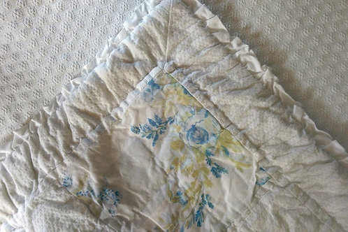 Simply Shabby Chic Std. Sham~British Blue Rose