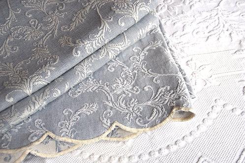Matelasse King Cover and Shams Blue White Portugal