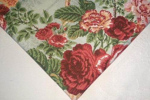 Shabby Vintage Custom Curtain Panel~Cotton