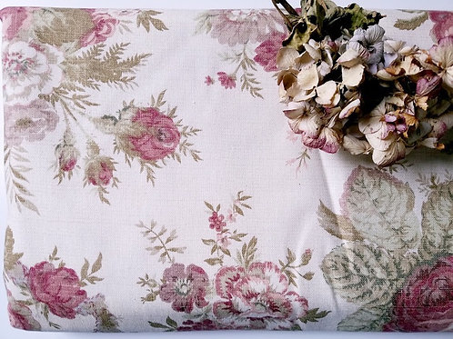 Waverly Norfolk Rose Fabric Vintage Collection~4 Yards