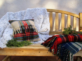 Tips to get your garden bench ready for the holidays.
