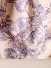 Waverly Garden Blue Toile Bed Skirt Queen 15 Quot Drop