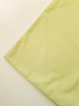 """Pottery Barn Velvet Pillow Green 20"""" Cotton Blend"""