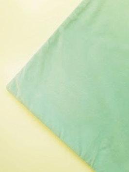 "Pottery Barn Velvet Pillow Medium Aqua Blue 20"" Cotton Blend"