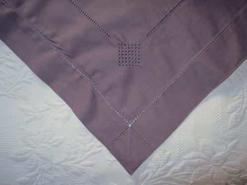 Chaps Ralph Lauren Rosemont Plum Linen Cotton Euro Sham