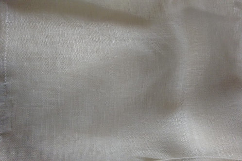 Pottery Barn Linen Sheer Drape~White~Pole Top