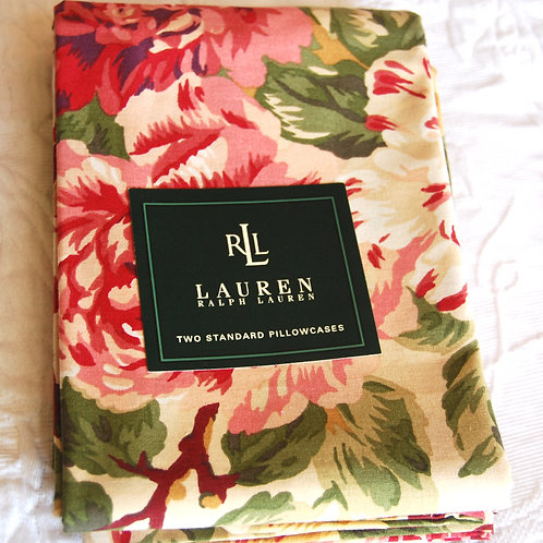 Ralph Lauren Constance Floral Std. Floral Pillowcases