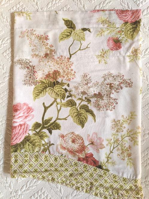 "WAVERLY Valance Garden Blossom Kristy Window Valance 52X18"""