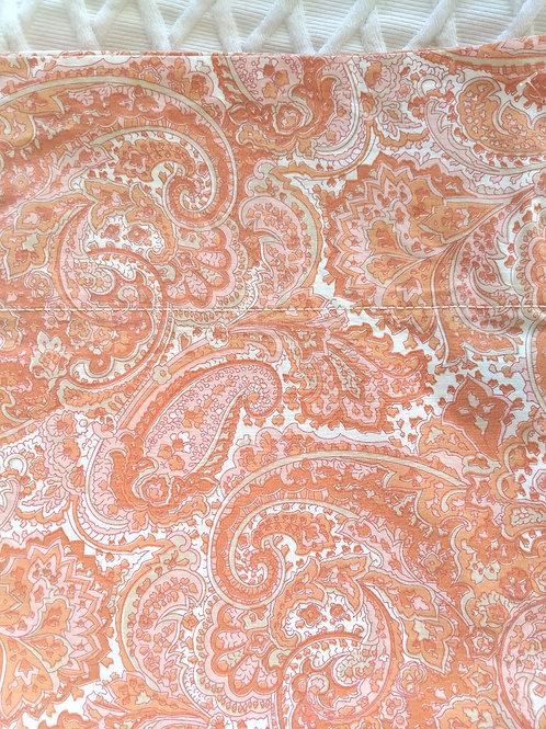 Ralph Lauren Harbor View Orange Tan Paisley Standard Case