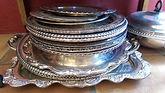 Chickadee Vintage Silver Plate