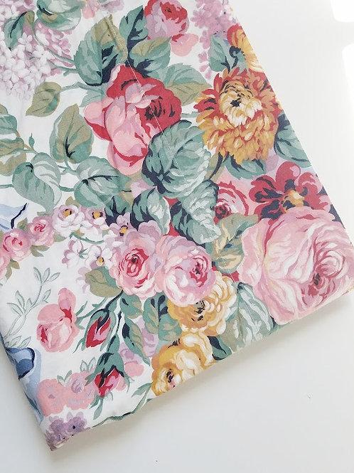 Ralph Lauren Allison Twin Flat Sheet Floral