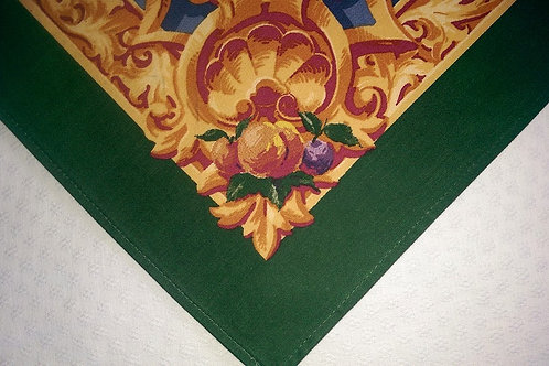 Waterford Rectangle Tablecloth~Floral Fruit