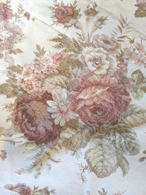 Waverly Valance Norfolk Rose Floral Mulberry Cabbage Rose 59 x 15.5