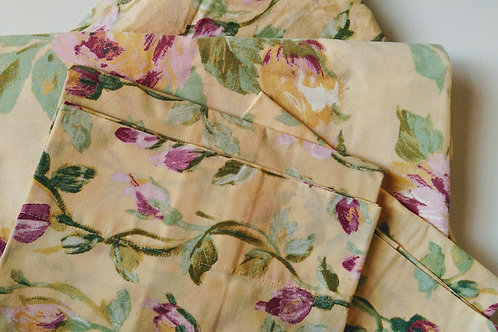 Company Store Twin Sheet Set~Floral