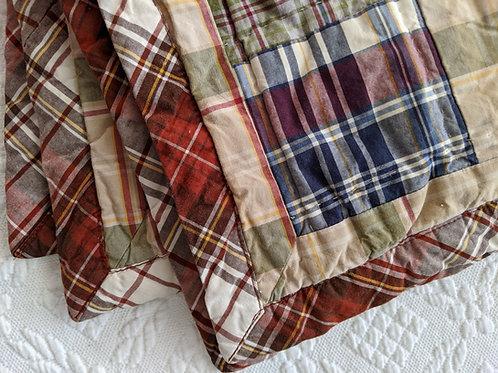 Woolrich  Patchwork Plaid Quilted Standard Sham