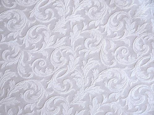 Anichini Jacquard Queen Cotton Duvet~Italian~White~Queen