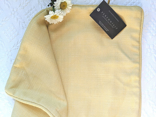 Restoration Hardware Yellow Perennials Outdoor Pillow