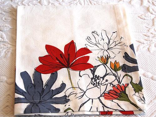Dinner Napkins Set of 4 Tag Ltd Cotton Floral Print