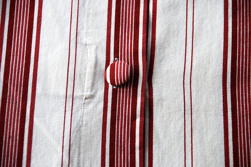 Simply Shabby Chic Square Striped Pillow Cover Pair