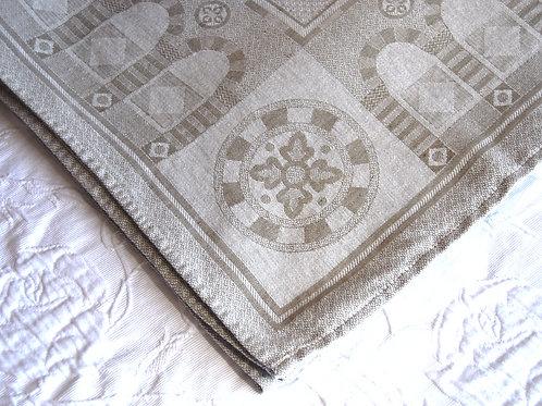 Flax Cotton Austrian Tablecloth Square