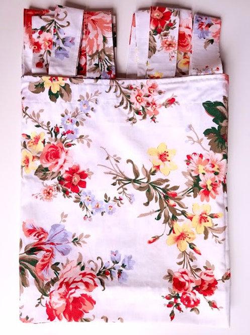 "Ralph Lauren Petticoat Valance Custom Tabs 18"" x 94"""