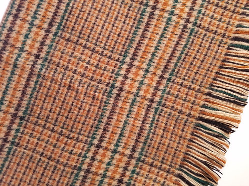 Glenfiddich Plaid Pure Scottish Plaid Wool Throw