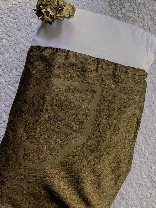 "Ralph Lauren Doncaster Camel King Bed Skirt 15"" Drop New"