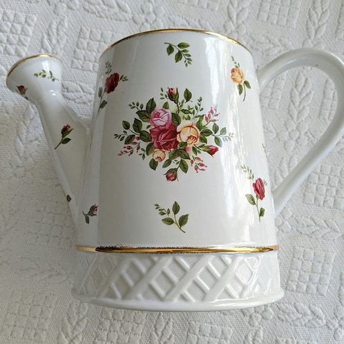 Royal Albert Old Country Roses Watering Can 2006