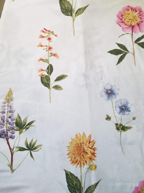 Pottery Barn Duvet Cover Full Queen Botanical Cotton