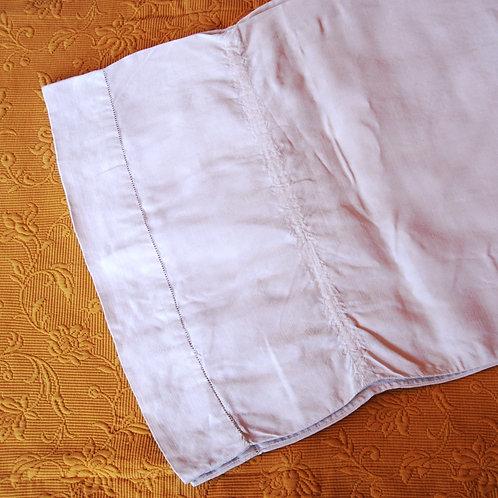 "Long French linen pillow bolster case~76"""