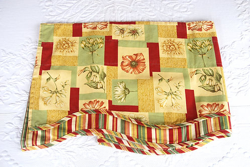 Waverly Valance Floral, Patchwork, Striped