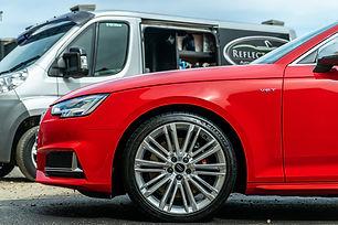 Audi S4 maintenance wash by Reflected Image