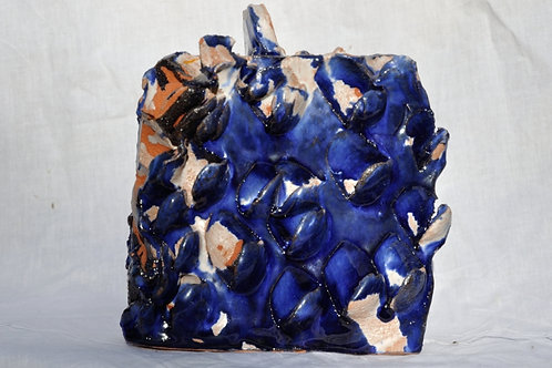 Keramik kunst  Nr. 19:  Keramik figur 16 x 18 cm