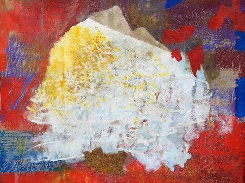 Oliemaleri Nr. 1090, 134 x 158 cm