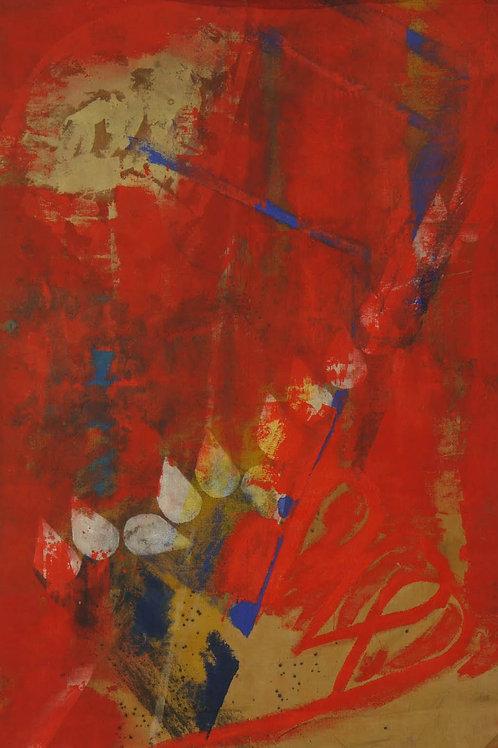 Akrylmaleri Nr. 1065, 270 X 183 cm