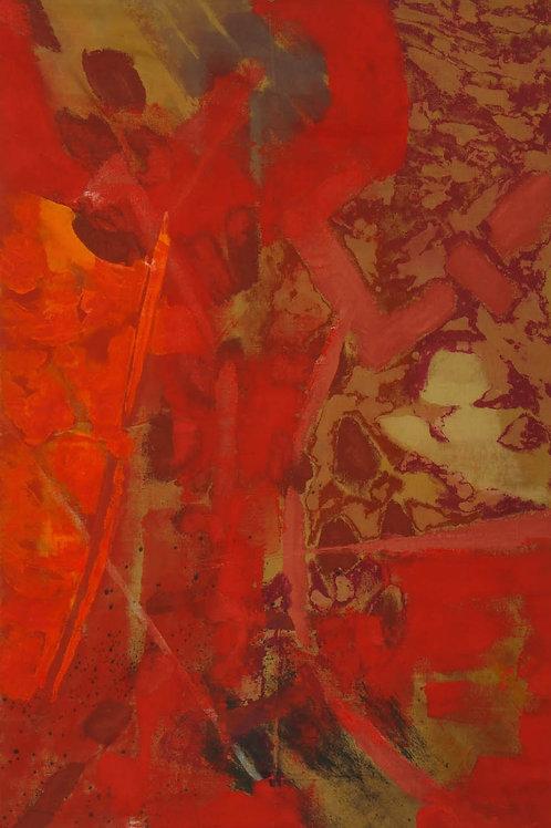 Akrylmaleri Nr. 1066, 270 X 183 cm