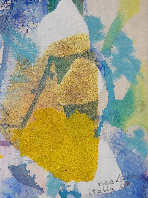 Akvarelbillede Nr. 105, Akvarel, 18 x 12 cm