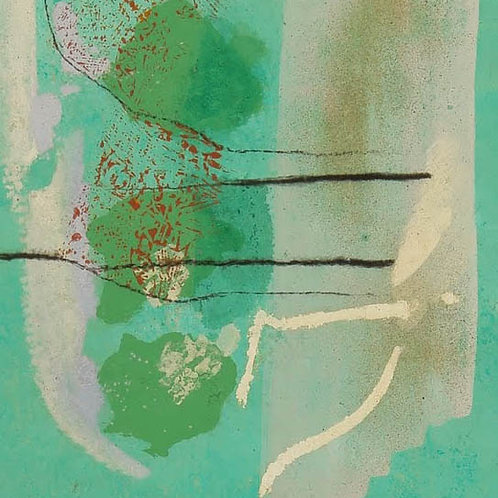 Oliemaleri Nr. 1056, 200 X 80 cm