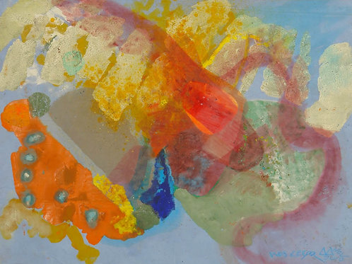 Oliemaleri Nr. 1023, 132 X 174 cm