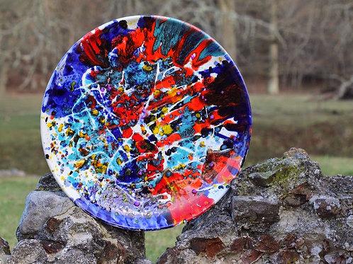 Keramik kunst Nr. 9, Keramik fad, Ø 55