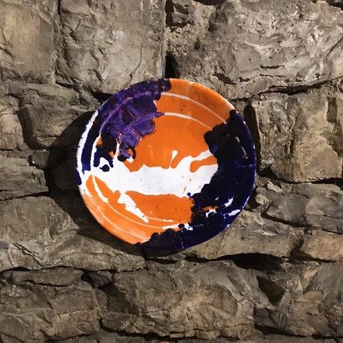 Keramik kunst Nr. 31, Keramik fad, Ø 40