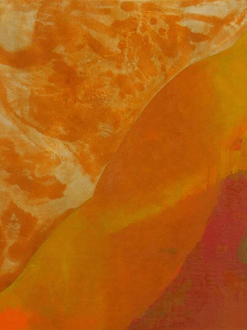 Oliemaleri Nr. 1072,  190 X 160 cm